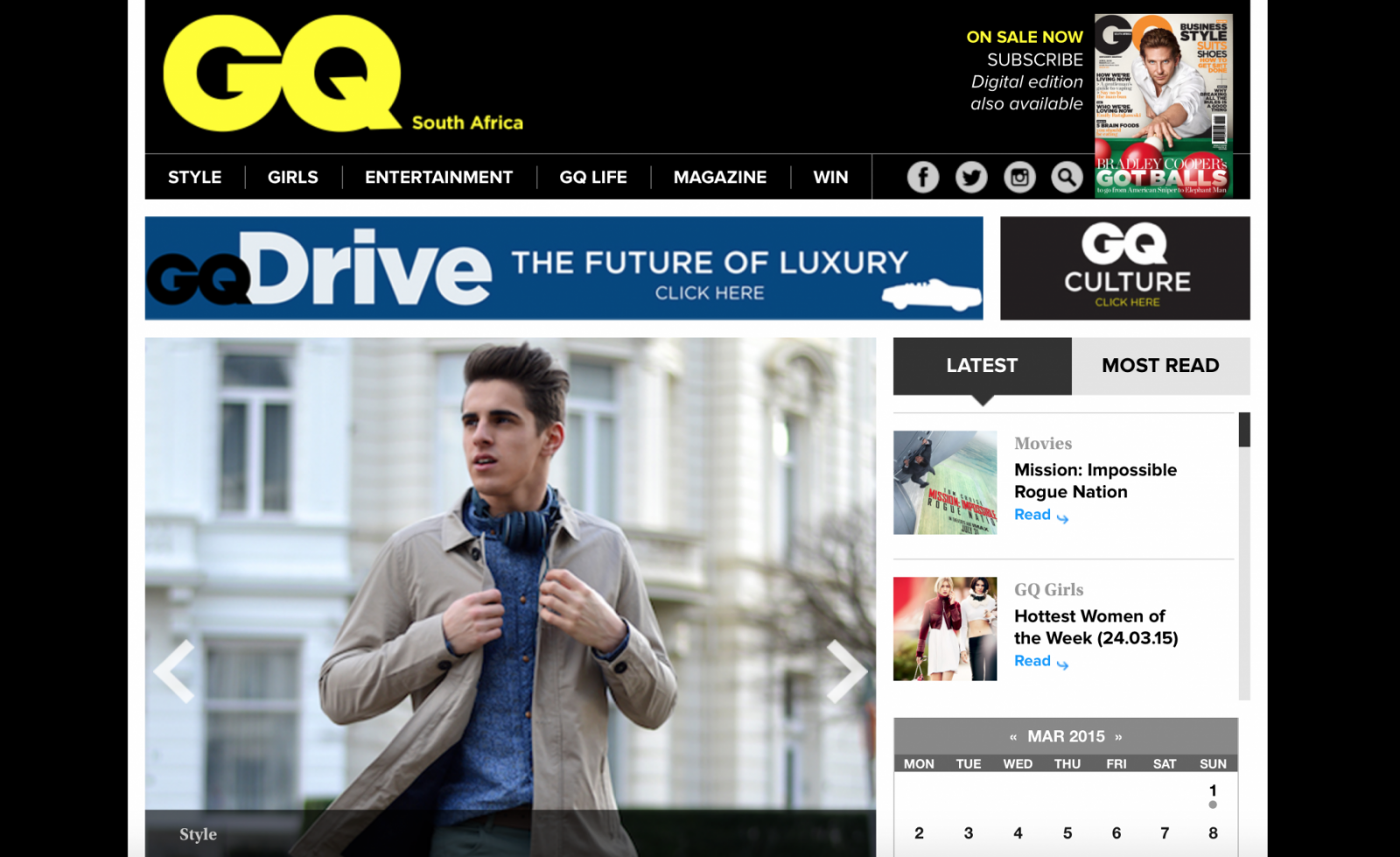 GQSouthAfrica Homepage 1