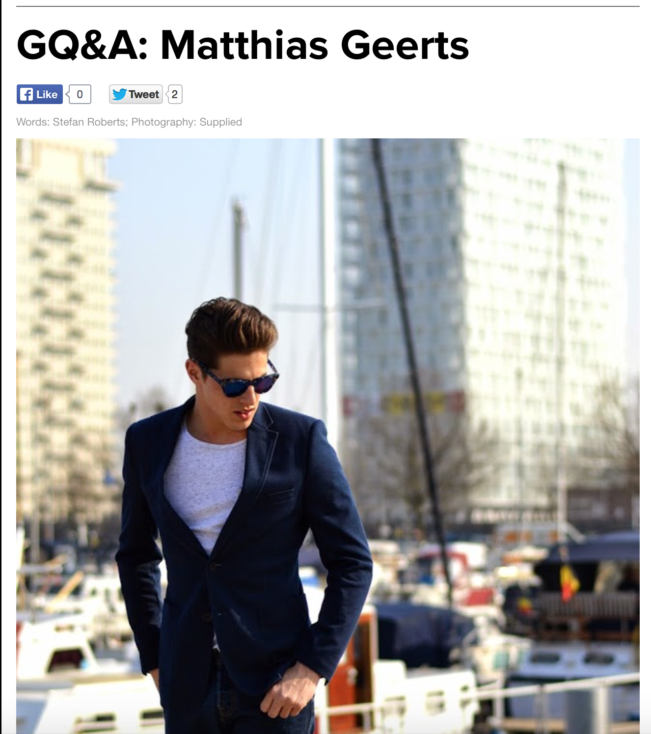 GQSouthAfrica Interview Cover photo